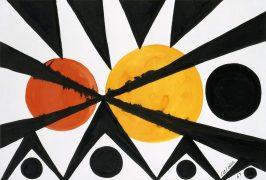 Across the Orange Moons