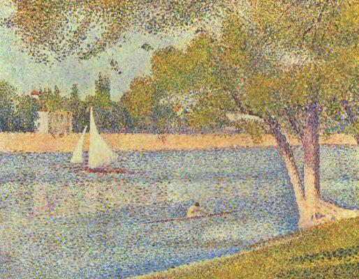 The river Seine at le Grande-Jatte